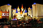 Excalibur Hotel, Las Vegas, Nevada, USA