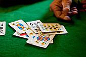 Jass, the Swiss card game. Bernese Oberland, Canton of Bern, Switzerland