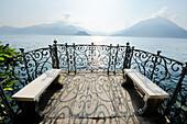 Viewpoint at Lake Como, Varenna, Lombardy, Italy