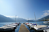 Landing stage at Lake Como, Tremezzo, Lombardy, Italy