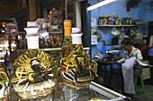 Snake wine, scorpion and snake in bottles at a pharmacy at Saigon, Ho Chi Minh, Saigon, Vietnam, Vietnam, Asia