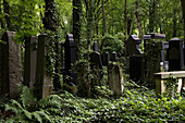 Jewish cemetery in Berlin-Weissensee, it is considered to be the largest Jewish cemetery in Europe, Berlin, Germany, Europe