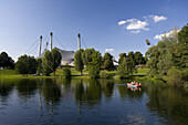 Olympia Park, Munich, Upper Bavaria, Bavaria, Germany, Europe