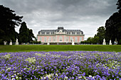 Benrath Castle, Rococo style summer residence, near Duesseldorf, North Rhine-Westphalia, Germany, Europe