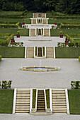Barock terrace garden, Neuwerkgarten, Gottorf Castle, Schleswig, Schleswig-Holstein, Germany, Europe