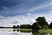 Wörlitzer Park, Lake Wörlitz, Wörlitz, Saxony-Anhalt, Germany, Europe, UNESCO world heritage site