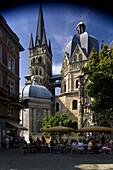Aachener Dom, Aachen, Nordrhein-Westfalen, Deutschland, Europa