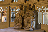 The Royal Couple in Magdeburg Cathedral, on the river Elbe, Magdeburg, Saxony-Anhalt, Germany, Europe