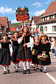 Wine and harvest festival, Sasbachwalden, Baden-Wurttemberg, Germany