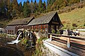 Hexenloch mill, Furtwangen, Baden-Wurttemberg, Germany