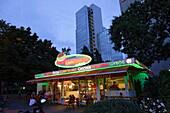 Snack bar, Frankfurt am Main, Hesse, Germany