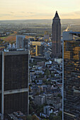 Messeturm, Fair Tower, Frankfurt am Main, Hesse, Germany