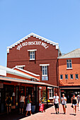 Saturday market at the Old Biscuit Mill in the Woodstock district of Capetown, Western Cape, RSA, South Africa, Africa