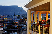Restaurant at the Victoria and Alfred Waterfront, Capetown, Western Cape, RSA, South Africa