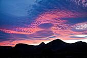 Abendhimmel, Aquila Lodge, Kapstadt, Western Cape, Südafrika, Afrika