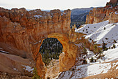 A beautiful natural arch in Bryce Canyon National Park,  in the state of Utah,  USA