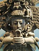 Zapotec Urn. Museo Amparo. Puebla. México