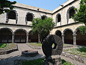 Convento de San Juan Evangelista. Barrio de Culhuacán. Ciudad de México.