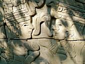 Aztec leaders. Museo Nacional de Antropologia. Ciudad de Mexico