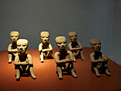 Figurillas Olmecas. Museo Amparo collection. Puebla. México