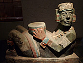 Chac Mool. Museo del Templo Mayor. Ciudad de Mexico