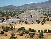 Pyramid of the Moon. Teotihuacan,  México.