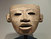 Mask. Museo de Teotihuacan. México.