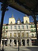 Ayuntamiento de Segovia. Castilla y León. España.