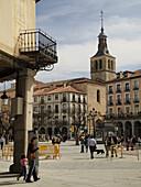 Plaza Mayor. Segovia. Castilla y León. España