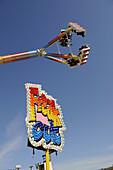 Amusement Ride at Strawberry Festival Plant City Florida