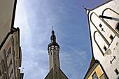 Color, Colour, Estonia, Raekoja Plats, Tallinn, World locations, M01-846617, agefotostock