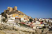 La Chanca neighbourhood and ´alcazaba´,  Almeria. Andalucia,  Spain