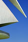 Palace of Arts Reina Sofia,  by S Calatrava City of Arts and Sciences Comunidad Valenciana,  Valencia Spain