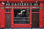 The tourist attraction,  Cassidy´s pub,  Dublin,  Ireland