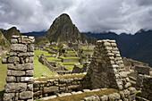 Ancient, Andes, Civilization, Color, Colour, Cusco, Machu Picchu, Mountain, Mystical, Peru, Ruins, South america, Stone, S19-830081, agefotostock