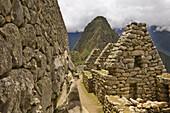 Ancient, Andes, Civilization, Color, Colour, Cusco, Machu Picchu, Mason, Mountain, Mystical, Peru, Rock, Room, Ruins, South america, Stone, S19-830094, agefotostock