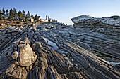 America, Coast, Color, Colour, House, Landscape, Light, Maine, New england, Ocean, Pemaquid Point, Rocks, Rugged, scenic, Sea, United states, S19-830129, agefotostock