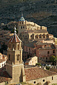 Albarracin, Aragon, Color, Colour, Spain, Travel, Travels, World locations, World travel, T69-850887, agefotostock