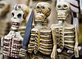 Guatemala,  wooden skeletons