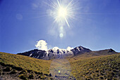 Berg, Farbe, Horizontal, Landschaft, Mexiko, Nevado, Schnee, schneebedeckt, Sonne, Sonnig, Tag, Toluca, Vulkan, V03-839628, agefotostock