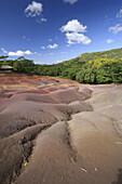 Chamarel Coloured Earths,  Mauritius,  Indian Ocean