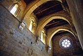 Vault  Santa Cristina de Ribas de Sil monastery  Orense province  Galicia  Spain