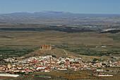 La Calahorra. Castle S. XVI. Marquis of Zenete. Granada province. Andalusia. Spain