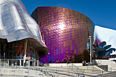 Abstract, Architect, Architecture, Art, Building, Center, Color, Colour, Door, Entrance, Frank, Gehry, Holiday, Modern, Nobody, Public, Seattle, Tourism, Travel, Unique, Unusual, Vacation, Washington, XL6-834469, agefotostock