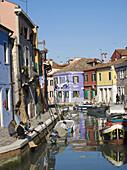 Domestic Life in Burano,  Venice,  Italy
