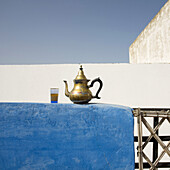 Kettle inside the house dedicated to tourist accommodation,  in the medina in Sale,  near Rabat,  Morocco