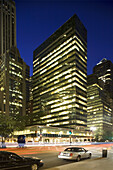 Lever House,  icon of modernism,  designed by SOM,  New York City,  New York,  USA,  2008