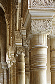 Moorish style architectural details,  Alhambra,  Granada,  Spain