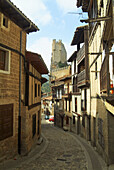 Castle, Castles, Frias, Spain, Street, Streets, View, Views, Village, Villages, XP5-831038, agefotostock