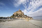 Mont Saint-Michel. Normandy,  France